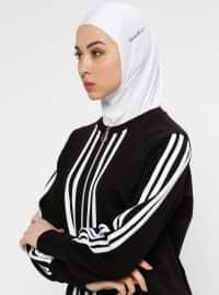 Hijab Spor Deniz Bonesi - Beyaz - Ecardin