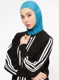 Hijab Spor Deniz Bonesi- Petrol - Ecardin