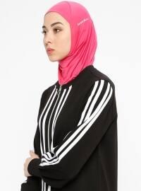 Hijab Spor Deniz Bonesi - Fuşya - Ecardin