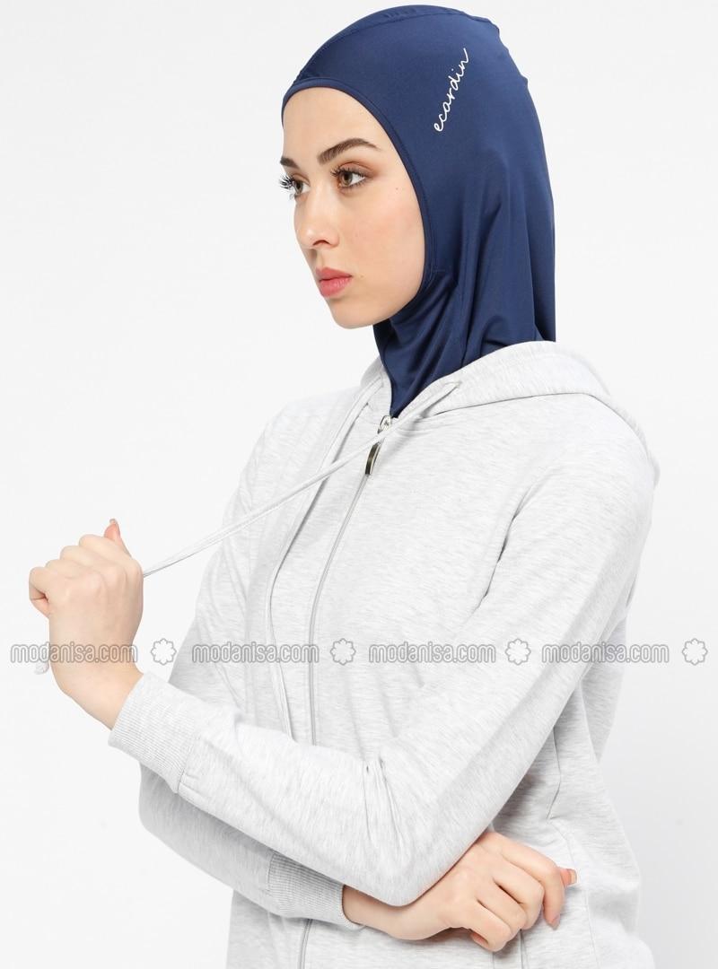 Navy Blue - Sports Bonnet