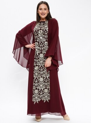 Purple Muslim Plus Size Evening Dresses Shop Womens Muslim Plus