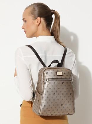Golden tone - Backpack - Bag - Pierre Cardin