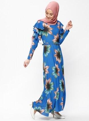 a81084e2e9a35 Modanisa Mağazasından Beha Marka Tesettür Elbise Modelleri En Uygun ...