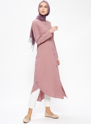 Powder - Button Collar - Tunic