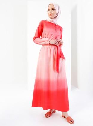Coral Plus Size Dresses Shop Womens Plus Size Dresses Modanisa
