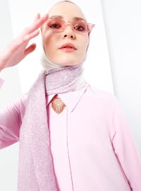 Lilac - Point Collar - Tunic