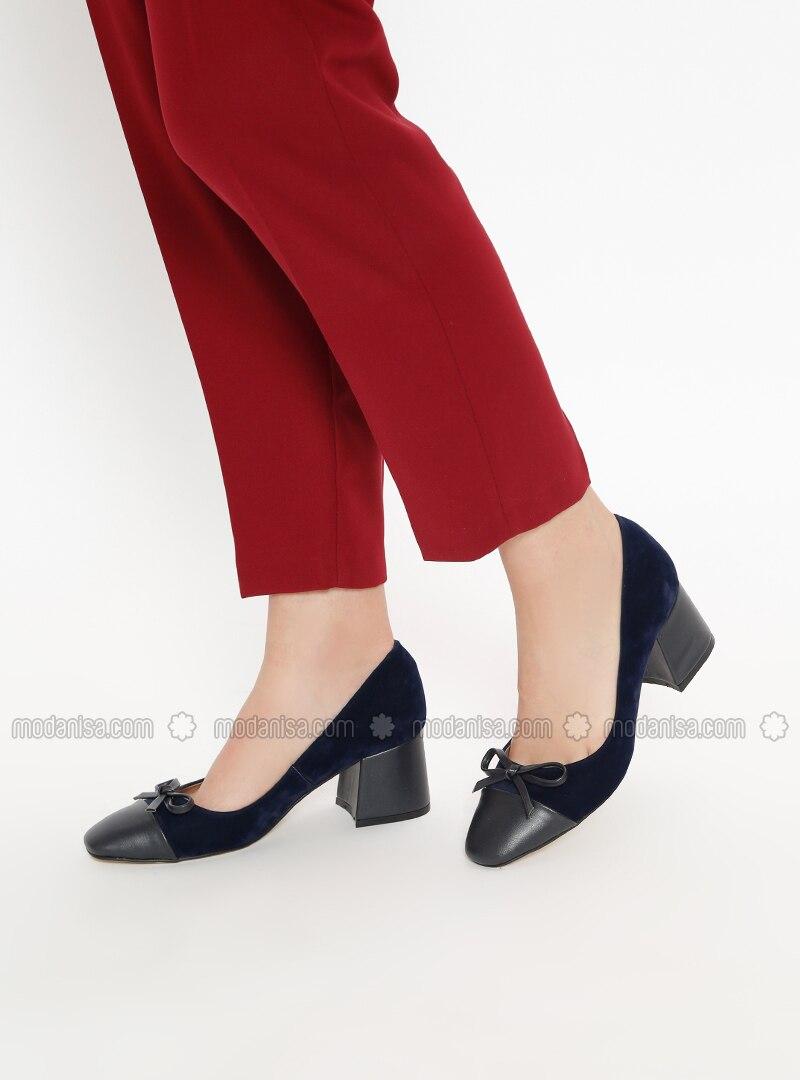 7b2312002 Navy Blue - High Heel - Heels. Fotoğrafı büyütmek için tıklayın