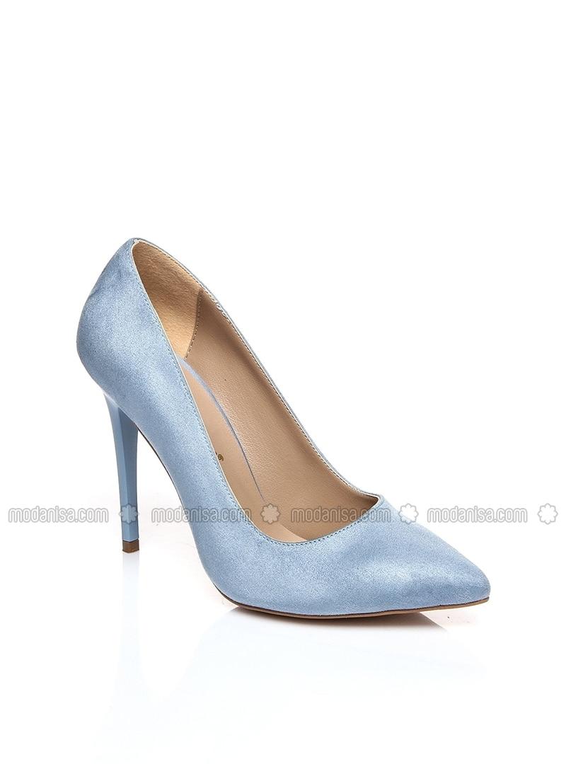 Stöckelschuh High High Stöckelschuh Blau Heels High Blau Heels Blau WIHED92Y