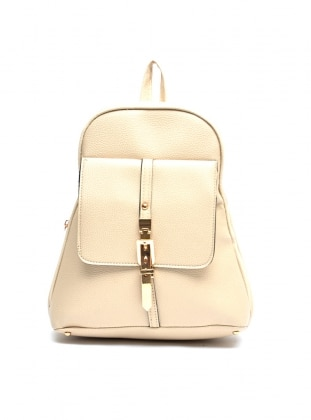 Beige – Backpack – Bag – Benny Louise
