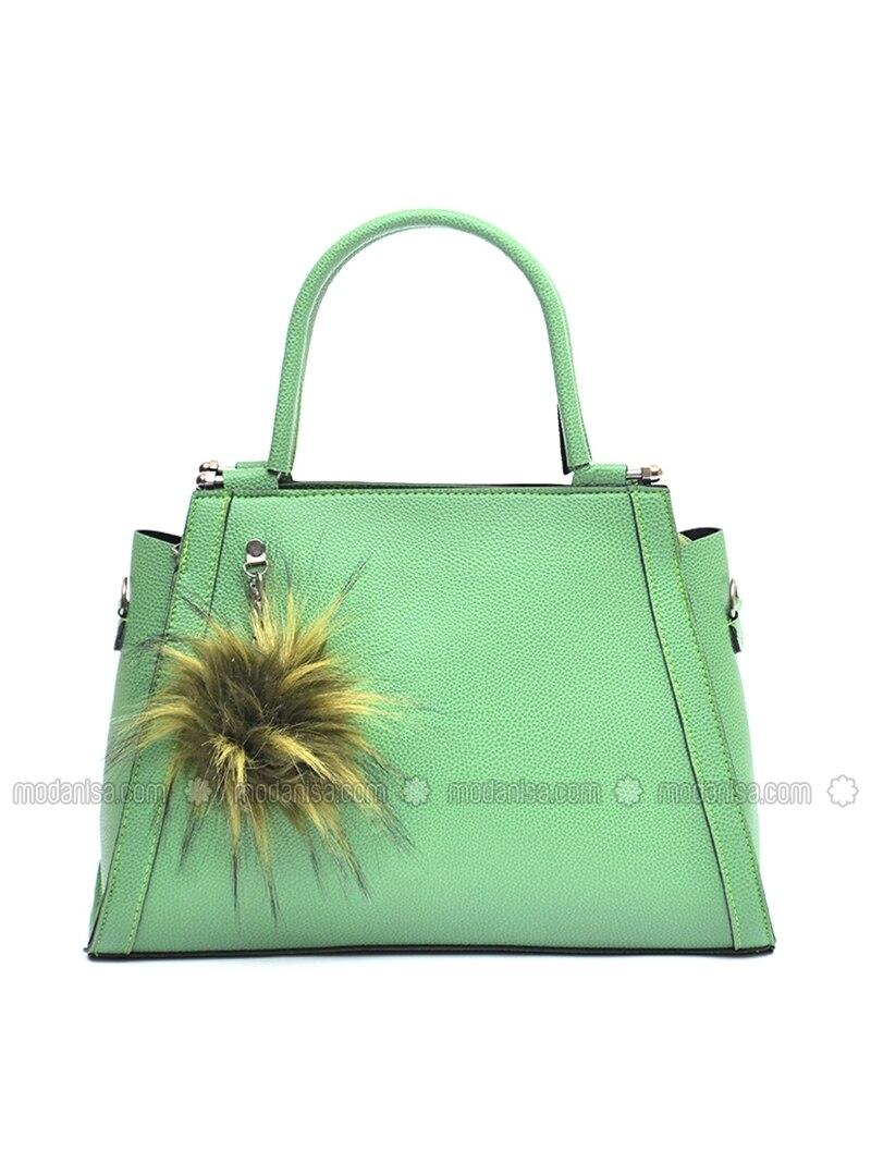 a0d9ca7728c1 Green - Satchel - Bag. Fotoğrafı büyütmek için tıklayın