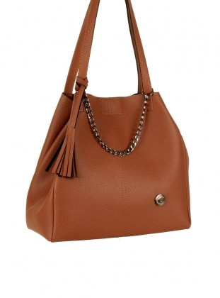 Tan - Satchel - Shoulder Bags - Luwwe