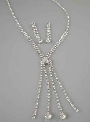 Silver tone - Accessories Set - Fsg Takı