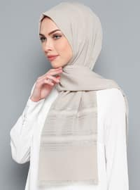 Gray - Plain - Shawl