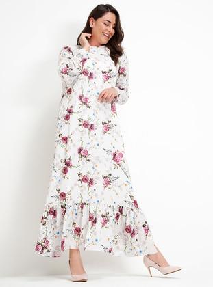 Çiçekli Elbise- Alia Ürün Resmi