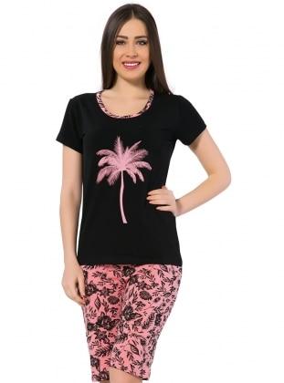 Black - Pink - Short Set