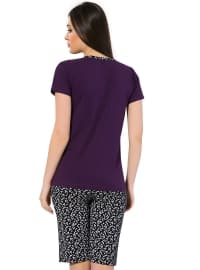 Black - Purple - Short Set