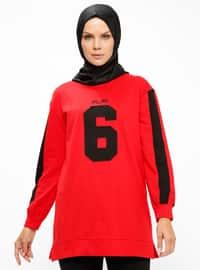 Spor Tunik - Kırmızı - PİLİSE