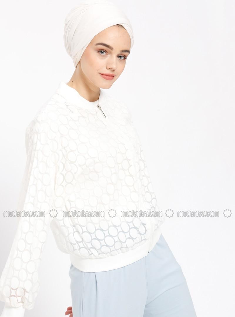 Ecru - Unlined - Jacket