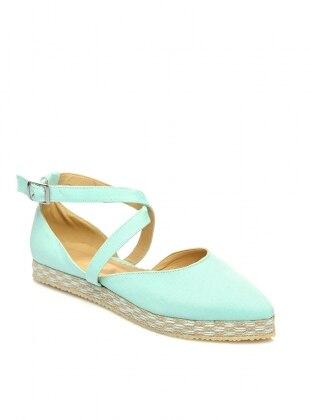 Ayakkabı - Su Yeşili - Shoestime Ürün Resmi