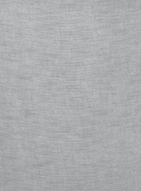 Gray - Plain - Scarf