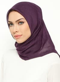 Purple - Plain - Scarf