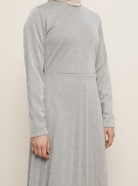 Minc - Fully Lined - Crew neck - Muslim Evening Dress