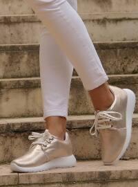 Spor Ayakkabı - Altın - Shoestime