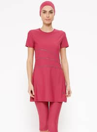 Plum - Fully Lined - Half Covered Switsuits