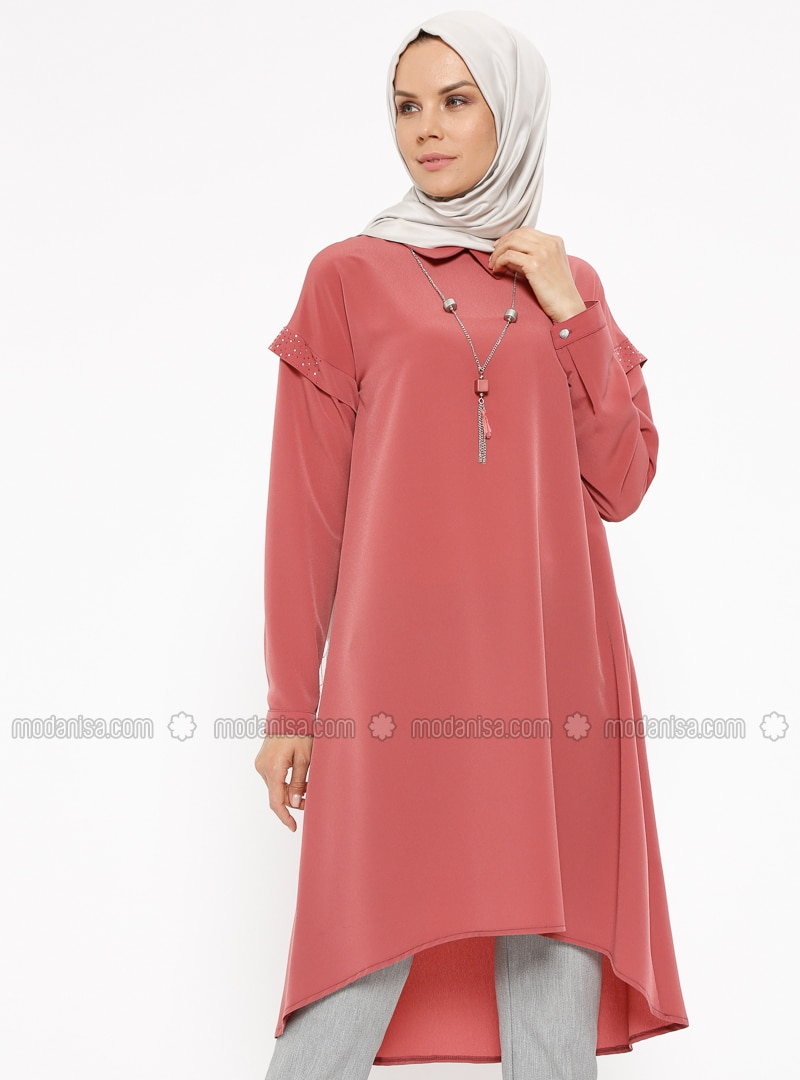 Pink - Point Collar - Tunic