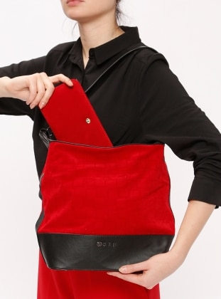 Red - Black - Wallet