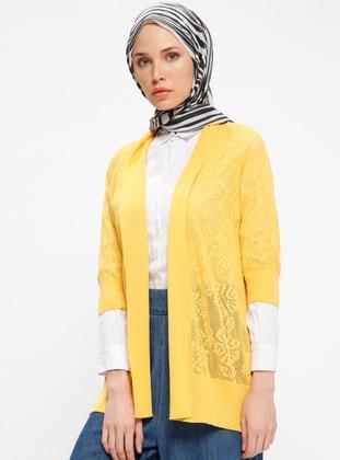 Yellow - Cardigan