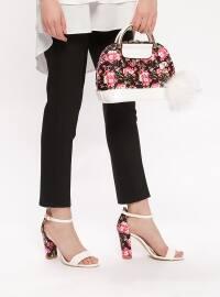 Ayakkabı & Çanta Takım - Beyaz Pembe - Sitill