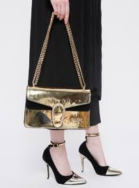 Ayakkabı & Çanta Takım - Gold - Sitill