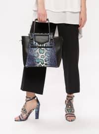 Ayakkabı & Çanta Takım - Mavi - Sitill
