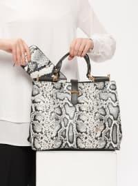Çanta&Cüzdan Takım - Beyaz - Sitill