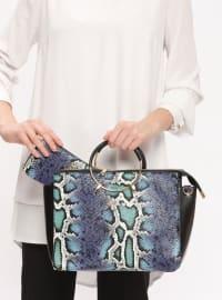 Çanta&Cüzdan Takım - Beyaz Saks - Sitill