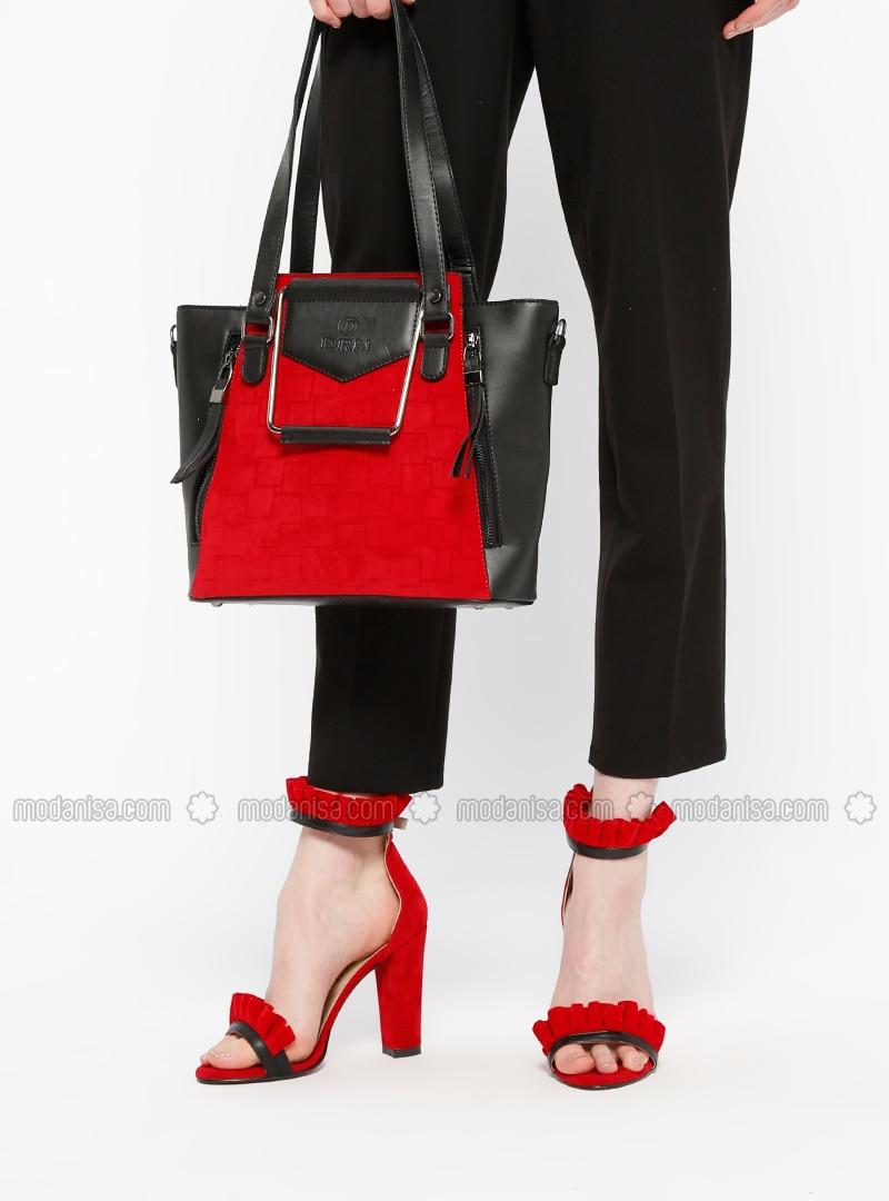 Red - High Heel - Suit