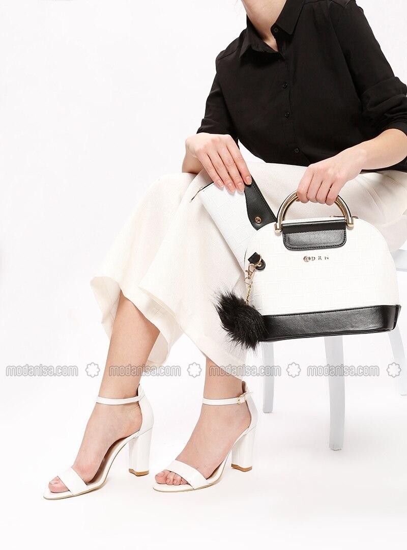 6efb299fd2313 Ayakkabı & Çanta Takım - Siyah Beyaz