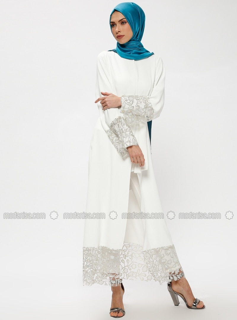 df0f3bbfc2d ecru---unlined---crew-neck---abaya-