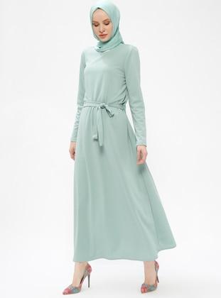 Mint - Crew neck - Unlined - Dresses