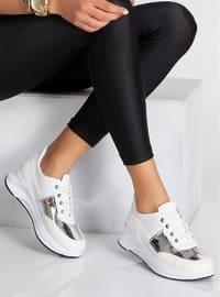 Spor Ayakkabı - Beyaz - Ayakkabı Havuzu