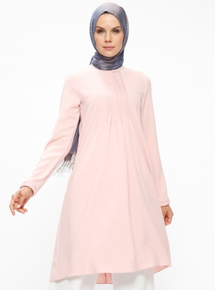 Powder - Polo neck - Tunic - Puane 428955