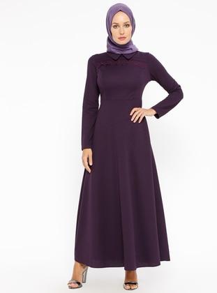 Purple Plus Size Dresses Shop Womens Plus Size Dresses Modanisa