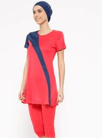 Coral - Fully Lined - Half Covered Switsuits
