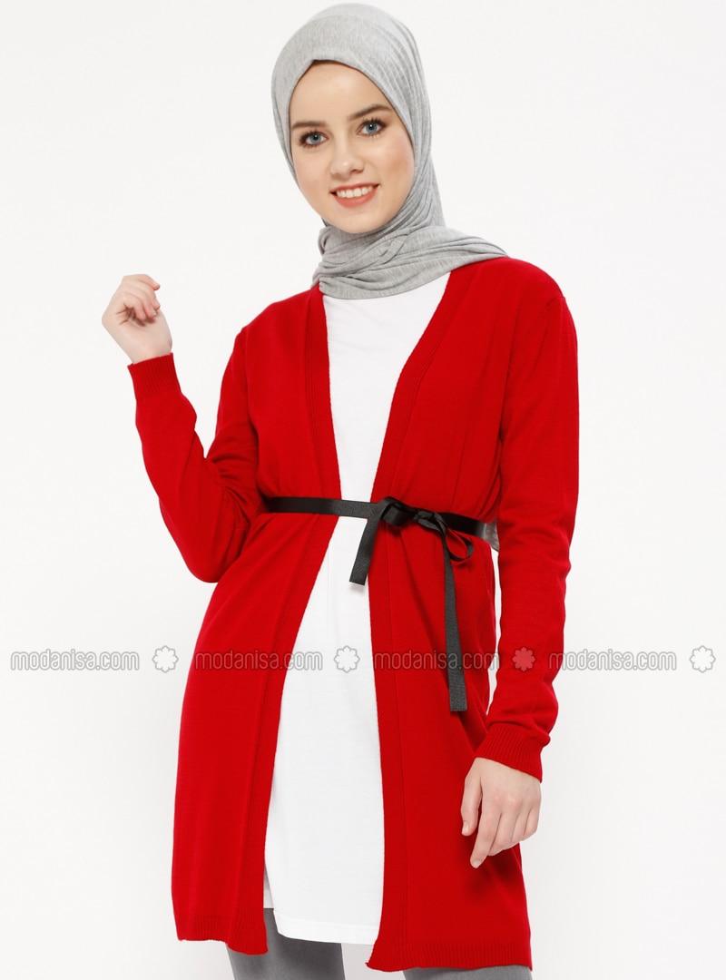c9d63a614e7 Red - Cardigan. Fotoğrafı büyütmek için tıklayın