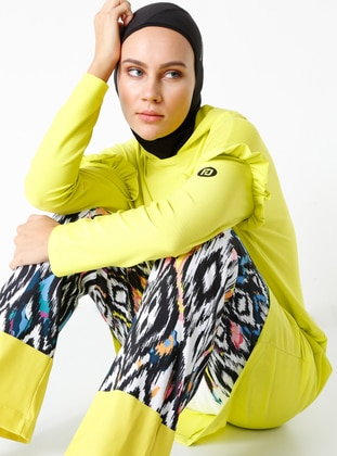 Yellow - Multi - Multi - Tracksuit Bottom