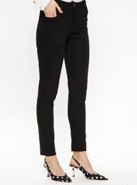 Black - Denim - Pants