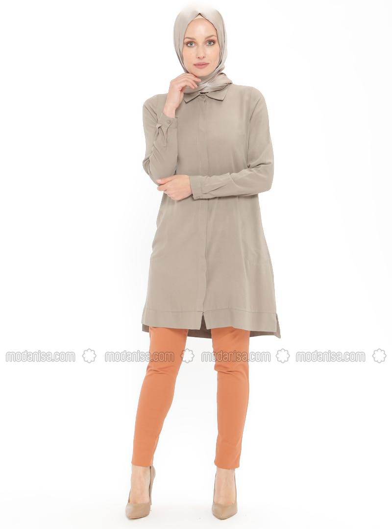 Orange - Denim - Pants