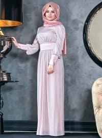 Sedef Abiye Elbise - Pudra - An-Nahar