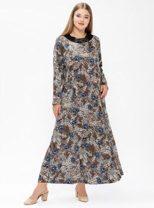 Muslim Plus Size Dresses Modanisa 2830